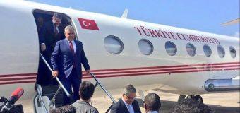 Safar Booqasho gaaban oo uu dalka Soomaaliya ku yimid R/wasaare ku xigeenka dalka Turkiga.
