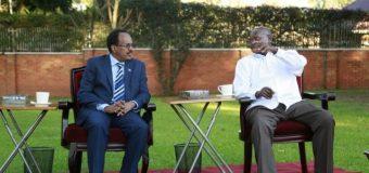 Madaxweynayaasha Soomaaliya iyo Uganda oo kulan ku yeeshey Kampala Caasimadda dalka Uganda.