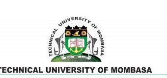 Jaamacad lagu Magacaabo TECHNICAL UNIVERSITY OF MOMBASA oo Dabley Hubeysani Weerareen Magaalada Mombasa.