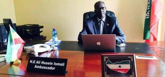 Somaliland Xafiis ay ku laheyd Adis Ababa oo Xaley Dab Qabsadey iyo Sababtoon Wali la Ogaanin.