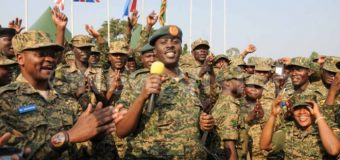 Ciidamo ka Madax Bannaan Hawl galka Midawga Africa oo Sawladda Uganda Sheegtey in ay Soomaaliya usoo Direyso.