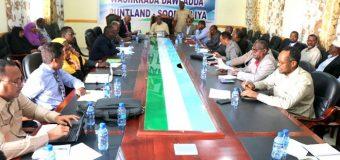 Golaha Wasiirada Puntland oo War kasoo saarey Doorashada Somaliland Amniga iyo Qodobo kale.