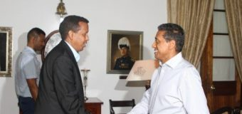 M/weynaha Seychelles iyo Wasiirka Arrimaha Debedda Soomaaliya Yussuf Garaad Axmed oo Kulan Yeeshey.