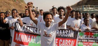 Hugaamiye Mucaarad ah OFC Bekele Gebre oo Xukuumadda Dalka Ethiopia Xabsiga kasii Daysey iyo Rabshado Dalkaasi ka jira.