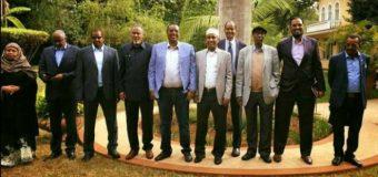 Wada Hadalada uga Furmey Dalka Kenya Ururka ONLF iyo Itoobiya oo Xukuumada Soomaaliya ka Hadashey.