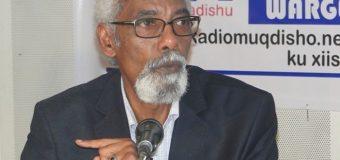 Prof. Maxamed Sheekh Cismaan Jawaari oo Laga Adkaadey Khudbadna ka Hor Jeediyey Barlamaankii uu Gudoomin Jirey.