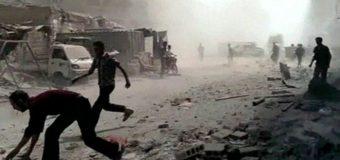 Hubka Kiimikada La Sheegay In Syria Isticmaashey oo Reer Galbeedku Baarayaan Iyagoo Duqeyn Cirka ahna ku Wada Dalkaasi.
