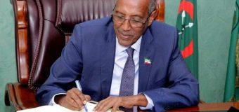 M/weynaha Maamulka Somaliland Muuse Biixi oo Magacaabey Agaasimeyaal Guud, Gudoomiyeyaal Gobol,iyo kuxigeenno Gobol.