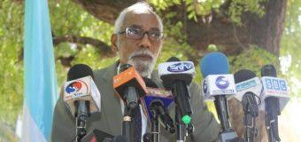 Prof. Jawaari oo Beeniyey Warar Sheegayey in uu Is Casilayo Beryaha Soo Socda Been Abuurna Ku Tilmaamey.