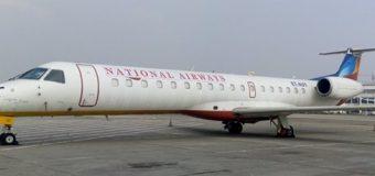 Diyaarad Magaceeda Lagu Sheegay National Airways oo Bilaabeysa Duulimaad Toos ah Muqdisho-Addis Ababa.