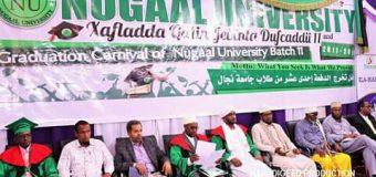 Jaamacadda Nugaal University oo Hablihii Ugu Badnaa Abid ay Ka Qalin Jabiyeen.