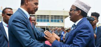 M/weyne Farmaajo oo Socdaalkiisii Labaad la Filayo in uu ku Tago Magaalada Asmara ee Dalka Eritrea.