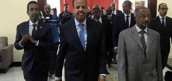 Wada Hadalada u Bilawdey Jabuuti iyo Eritrea oo ay Soo Dhaweeyeen Gudiga Midawga Africa.