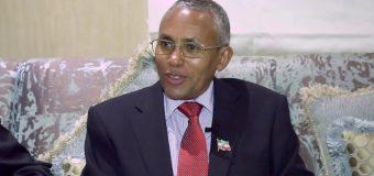 Wasiirka Arrimaha Debedda Somaliland Sacad Cali Shire oo Shuruud ku Xiray Wada Hadallo ka Dhaca Muqdisho iyo Hargeysa ee ay La Yeeshaan DFS.