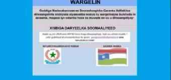 WARGELIN:-XISBIGA DARYELKA SOOMAALIYEED