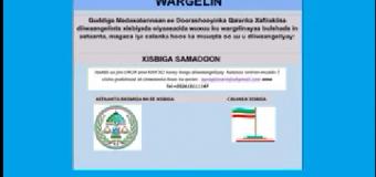 WARGELIN:-XISBIGA SAMADOON