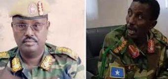 Gen. Cumar Dheere Taliyihii G.12 April Abaan Duulihii Guutada iyo Askar La Socotey oo Maanta Aas Qaran Loo Sameeyey.