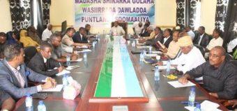 Xukuumadda Puntland oo Gobol U Magacawdey Degmada Taleex iyadoo Somaliland hada ka Hor U Magacawdey Gobol.