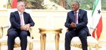 Safiir Ka Socda Dalka Turkiga oo Muuse Biixi Kulan kula Yeeshey Madaxtooyada Somaliland.