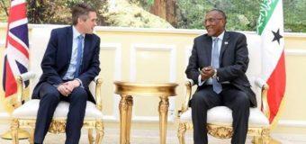 Warar Hoose oo Sheegaya In Dawladda Britain ay Somaliland Ka Dooneyso Salidhig Millateri In ay Kasameysato.