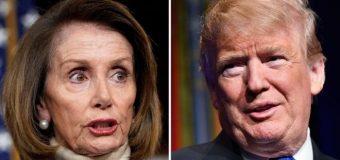 Nancy Policy oo Safar ay Debedda Ku Aadi Laheyd uu Hakiyey M/weyne Trump Muranka Mizaaniyadda Awgeed.