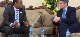 Xoghayaha Difaaca Britain oo Maanta Booqasho Ku Tagey Maamulka Somaliland ee Waqooyiga Soomaaliya.